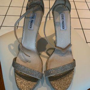 Gold Shimmer Steve Madden heels